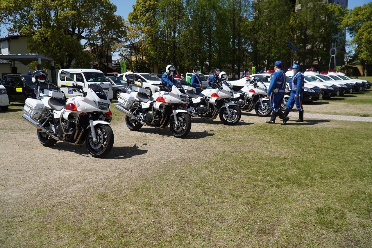 R3 春の交通安全運動出発式